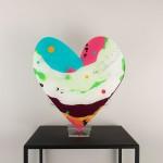 Heart sculptures ('Heartflow' series)